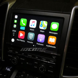 Porsche CarPlay Interfaces
